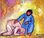 Jésus et le lépreux