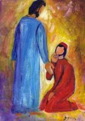 le lépreux guéri revient vers Jésus