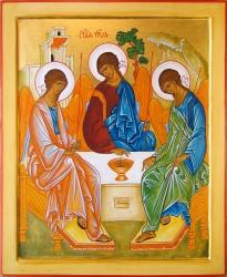 icone de la Trinité